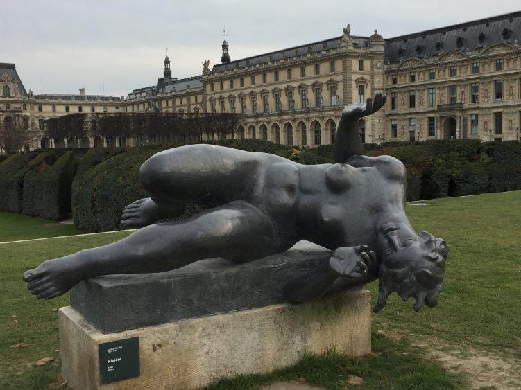Le jardin des tuileries maillol sculpture nature - Sculpture jardin des tuileries ...