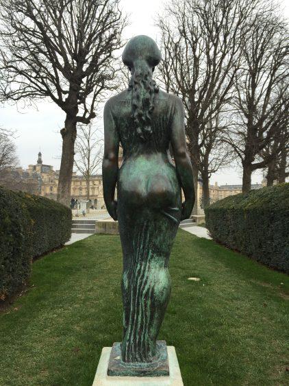 Le jardin des tuileries maillol sculpture nature - Statues jardin des tuileries ...
