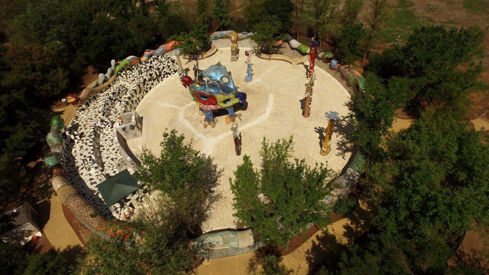 Queen Califia Niki De Saint Phalle Sculpture Nature