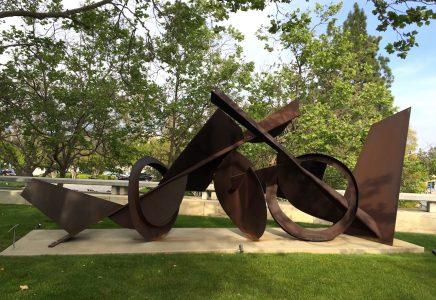 Dominique haim sculpture nature for Statue japonaise pour jardin