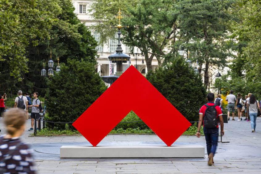 Carmen Herrera Estructuras Momumentalesat City Hall Park